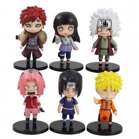 Rongzou Set Action Figure Naruto 6 PCS - Model A