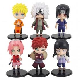 Rongzou Set Action Figure Naruto 6 PCS - Model B