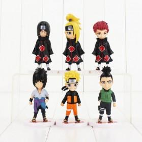 Rongzou Set Action Figure Naruto 6 PCS - Model B - 3
