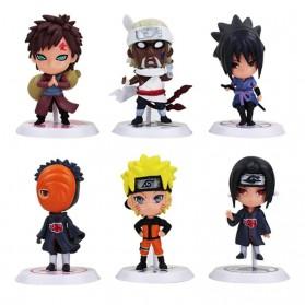 Rongzou Set Action Figure Naruto 6 PCS - Model B - 4