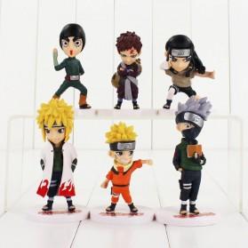 Rongzou Set Action Figure Naruto 6 PCS - Model B - 7