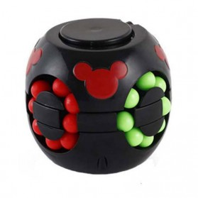 Cube Spinner Mainan Puzzle Rotating Magic Bean Anak - UCN1 - Multi-Color - 2