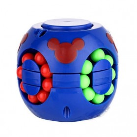 Cube Spinner Mainan Puzzle Rotating Magic Bean Anak - UCN1 - Multi-Color - 3
