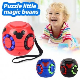 Cube Spinner Mainan Puzzle Rotating Magic Bean Anak - UCN1 - Multi-Color - 5