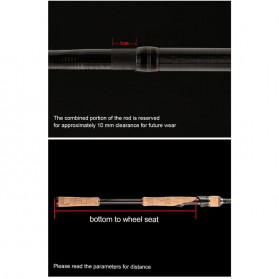 MS.X Joran Pancing Casting Carbon Fiber 100g 1.8m - Black - 10