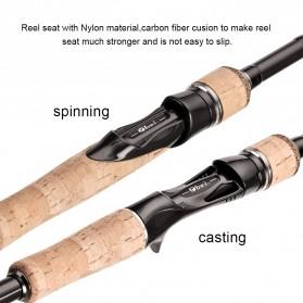MS.X Joran Pancing Casting Carbon Fiber 100g 1.8m - Black - 3