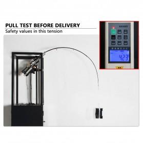 MS.X Joran Pancing Spinning Carbon Fiber 110g 2.4m - Black - 5