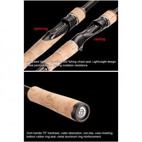 MS.X Joran Pancing Spinning Carbon Fiber 110g 2.4m - Black - 8