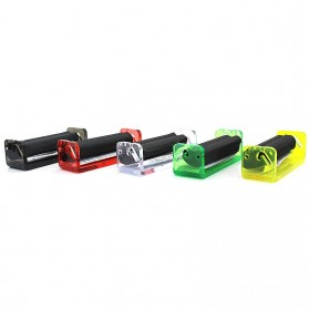 GIZEH Alat Linting Rokok Manual Tobacco Roller Mini 70mm - DA-010GR - Mix Color - 5