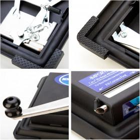 LCFUN Alat Linting Rokok Manual Tobacco Roller Machine - F0889 - Black - 9