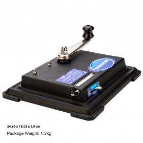 LCFUN Alat Linting Rokok Manual Tobacco Roller Machine - F0889 - Black - 11