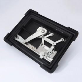 LCFUN Alat Linting Rokok Manual Tobacco Roller Machine - F0889 - Black - 4