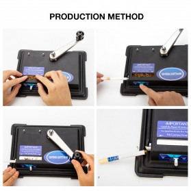 LCFUN Alat Linting Rokok Manual Tobacco Roller Machine - F0889 - Black - 5