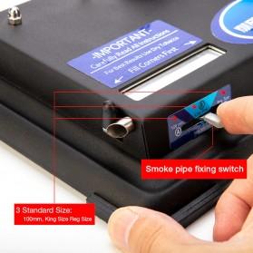 LCFUN Alat Linting Rokok Manual Tobacco Roller Machine - F0889 - Black - 8