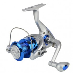YUMOSHI SA4000 Series Reel Pancing Fishing Reel 5.5:1 Gear Ratio - Silver Blue