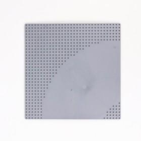 KACUU Base Plate LEGO Building Blocks 25.6 x 25.6 cm Bend Road - KA-EN-213 - Gray - 6