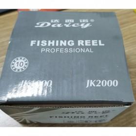 DAICY JK1000 Reel Pancing Spinning Interchangeable Handle 5.5:1 - JG012 - Black - 9