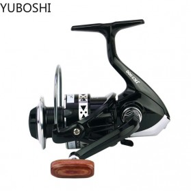 DAICY JK1000 Reel Pancing Spinning Interchangeable Handle 5.5:1 - JG012 - Black - 2