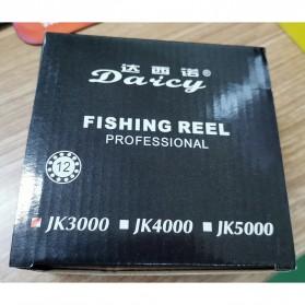 DAICY JK3000 Reel Pancing Spinning Interchangeable Handle 5.5:1 - JG012 - Black - 9