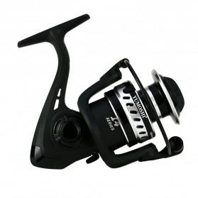 Yumoshi LT5000 Series Reel Pancing Fishing Reel 5.2:1 Gear Ratio - Silver Black