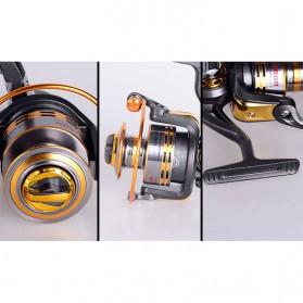 Debao Gulungan Pancing DB5000 Metal Fishing Spin Reel 10 Ball Bearing - Golden - 5