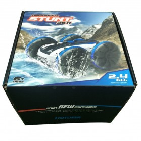 Hapybas Mobil RC Remote Control Stunt Car Water Land Amphibious Small Version - WDS-RCT017 - Blue - 10