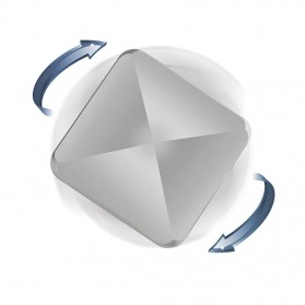Flipo Flip Mainan Rolling Square Flip Dancing Kinetic Energy Model Segi Empat - F131 - Black - 4