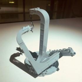 OLOEY Mainan Puzzle Anak Tensegrity Sculptures Anti Gravity Building Blocks - O31 - Silver - 4