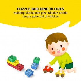 OLOEY Mainan Puzzle Anak Tensegrity Sculptures Anti Gravity Building Blocks - O31 - Silver - 7