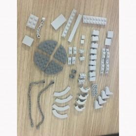 OLOEY Mainan Puzzle Anak Tensegrity Sculptures Anti Gravity Building Blocks - O31 - Silver - 8