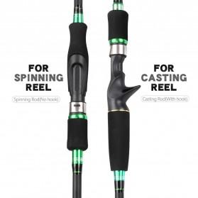 SIECHI Joran Pancing Portable Telescopic Spinning Rod 1.8M - JW-03 - Green - 6