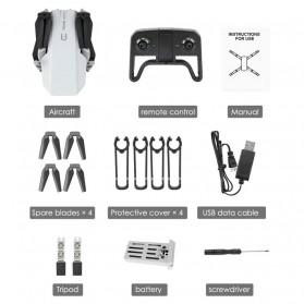 HGIYI Quadcopter Foldable Drone 4K Camera WiFi FPV - KF609 - Silver - 3