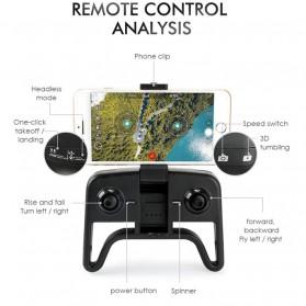 HGIYI Quadcopter Foldable Drone 4K Camera WiFi FPV - KF609 - Silver - 4