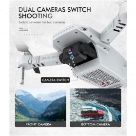 HGIYI Quadcopter Foldable Drone 4K Camera WiFi FPV - KF609 - Silver - 5