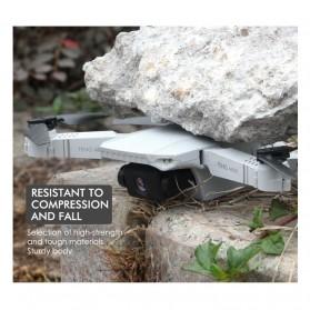 HGIYI Quadcopter Foldable Drone 4K Camera WiFi FPV - KF609 - Silver - 7