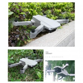 HGIYI Quadcopter Foldable Drone 4K Camera WiFi FPV - KF609 - Silver - 8