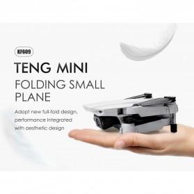 HGIYI Quadcopter Foldable Drone 4K Camera WiFi FPV - KF609 - Silver - 9