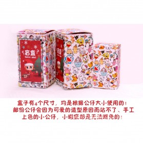 AVEN RABBITS Gatcha Mistery Box Surprise Figurin Blind Box Anime Figures - Y89 - Multi-Color - 5