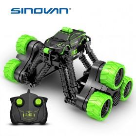Sinovan Mobil Remot Kontrol Remote Control BRC Stunt Buggy Car 2.4G 4CH - SY006 - Black - 2