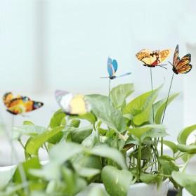 Dekorasi Kebun Kupu-Kupu Artificial Flying Butterfly 15 PCS - Multi-Color - 4