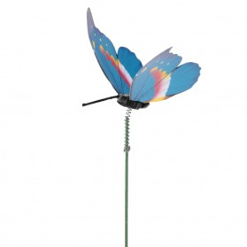 Dekorasi Kebun Kupu-Kupu Artificial Flying Butterfly 15 PCS - Multi-Color - 7