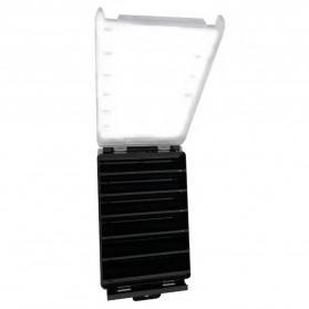 Luya Box Kotak Perkakas Kail Umpan Pancing Dua Sisi 12 Slot - YD12 - Black - 2