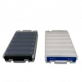 Luya Box Kotak Perkakas Kail Umpan Pancing Dua Sisi 12 Slot - YD12 - Black - 4
