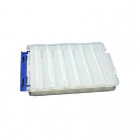 Luya Box Kotak Perkakas Kail Umpan Pancing Dua Sisi 12 Slot - YD12 - White