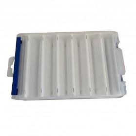 Luya Box Kotak Perkakas Kail Umpan Pancing Dua Sisi 12 Slot - YD12 - White - 4