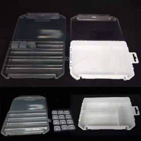 Bearking Box Kotak Perkakas Kail Umpan Pancing Tackle Box Size Small - BK30 - Black - 4