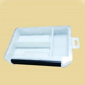 Aksesoris Pancing Lainnya - Bearking Box Kotak Perkakas Kail Umpan Pancing Tackle Box Size Large - BK30 - White