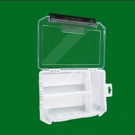 Bearking Box Kotak Perkakas Kail Umpan Pancing Tackle Box Size Large - BK30 - White - 2