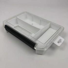 Bearking Box Kotak Perkakas Kail Umpan Pancing Tackle Box Size Large - BK30 - White - 3