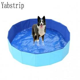 Yabstrip Kolam Renang Lipat Foldable Swimming Pool 80x20cm - Y007 - Blue